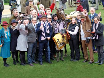 Pentland Hills and Owners at the Cheltenham Festival